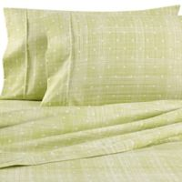 Home Collection Polka Dot Full Sheet Set in Moss