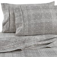 Home Collection Polka Dot Full Sheet Set in Grey