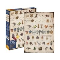 Aquarius Harry Potter™ Icons 1000-Piece Jigsaw Puzzle