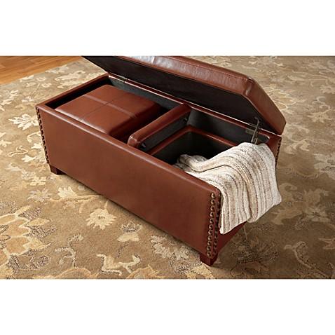 Bombay Hendrickson 3 Piece Ottoman Set Bed Bath Beyond