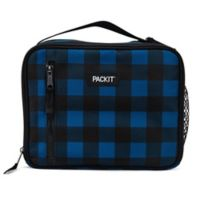 PACKiT® Freezable Classic Lunch Box in Black/Blue