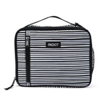 PACKiT® Freezable Classic Lunch Box in Black/White