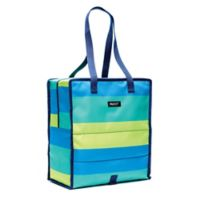 PACKiT® Freezable Grocery Tote in Fresh Stripe