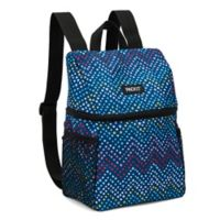 PACKiT® Freezable Lifestyle Lunch Backpack in Dottie Chevron