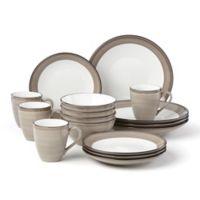 Lenox® Park City™ Brushed 16-Piece Dinnerware Set