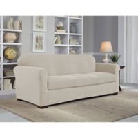 Perfect Fit® NeverWet Luxury 2-Piece Sofa Slipcover in Putty