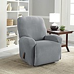 Perfect Fit® NeverWet Luxury 2-Piece Recliner Slipcover in Grey