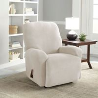 Perfect Fit® NeverWet Luxury 2-Piece Recliner Slipcover in Putty