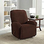 Perfect Fit® NeverWet Luxury 2-Piece Recliner Slipcover in Chocolate