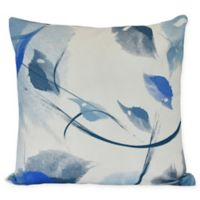 E by Design Windy Square Throw Pillow in Navy