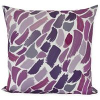 E by Design Wenstry Square Throw Pillow in Purple