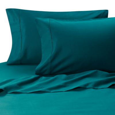 High Quality MicroTouch California King Sateen Sheet Set In Teal