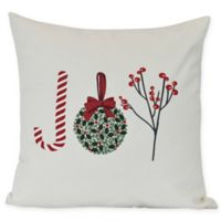 Oh Joy Square Throw Pillow in Off-White