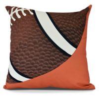 E by Design TD Square Pillow in Orange