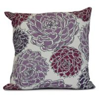 Olivia Square Throw Pillow in Orange