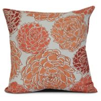Olivia Square Throw Pillow in Coral