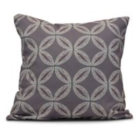Tidepool Square Throw Pillow in Lavender