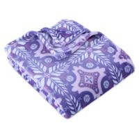 Berkshire Blanket® VelvetLoft® Havana Throw Blanket in Purple