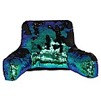 Mermaid Plush Backrest in Green/Blue