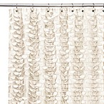Gigi Ivory 72-Inch x 72-Inch Shower Curtain