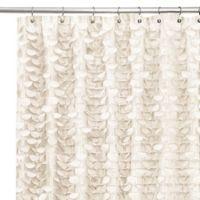 Gigi Ivory 72-Inch x 72-Inch Shower Curtain