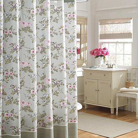 Laura Ashley Avery 72 X 72 Shower Curtain