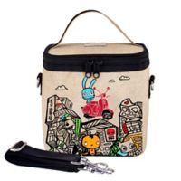 SoYoung Pixopop Stitch Time Traveler Small Cooler Bag in Red