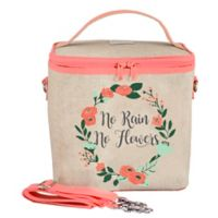SoYoung No Rain No Flowers Large Cooler Bag in Coral