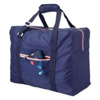 InterDesign® Aspen Collapsible Tote in Navy