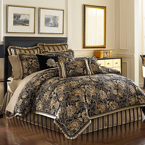 J queen new york alicante comforter set bed bath beyond - Bed bath and beyond bedroom furniture ...