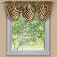 Ombre Waterfall Valance in Earth