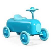 Baghera Metal Ride-On Racer Car in Lagoon Turquoise