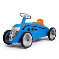 Baghera Metal Ride-On Rider Car in Blue