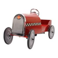 Baghera Legend Metal Ride-On Car in Red
