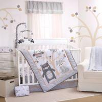 Little Haven Woodland Friends 3-Piece Crib Bedding Set in Grey