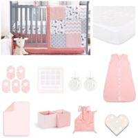 The Peanutshell™ Peanut Shell® 18-Piece Uptown Girl Nursery Set