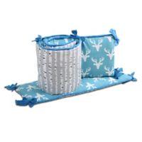 The Peanutshell™ Woodland Dreams 4-Piece Crib Bumper Set