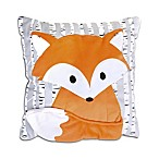 The Peanut Shell® Woodland Dreams Fox Throw Pillow