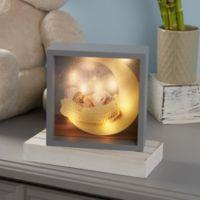 Baby Photo LED Light 10-Inch Square Shadow Box