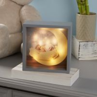 Baby Photo LED Light 10-Inch Square Shadow Box