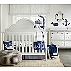 Wendy Bellissimo™ Landon 4-Piece Crib Bedding Set in Navy/White