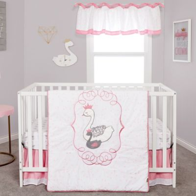 convertible crib cribs set black ellenhkorin white kids modern sets furniture bedding piece and bright