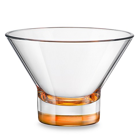 Bormioli Rocco Ypsilon 13-Ounce Dessert Bowl in Orange