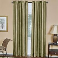 Ombre 84-Inch Rod Pocket Window Curtain Panel in Sage