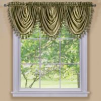 Ombre Waterfall Valance in Sage