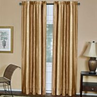 Ombre 84-Inch Rod Pocket Window Curtain Panel in Sandstone