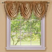 Ombre Waterfall Valance in Sandstone