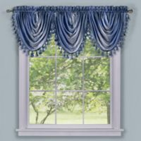 Ombre Waterfall Valance in Blue