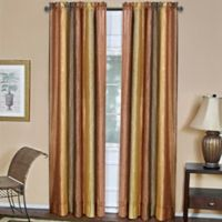 Ombre 63-Inch Rod Pocket Window Curtain Panel in Autumn