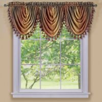 Ombre Waterfall Valance in Autumn